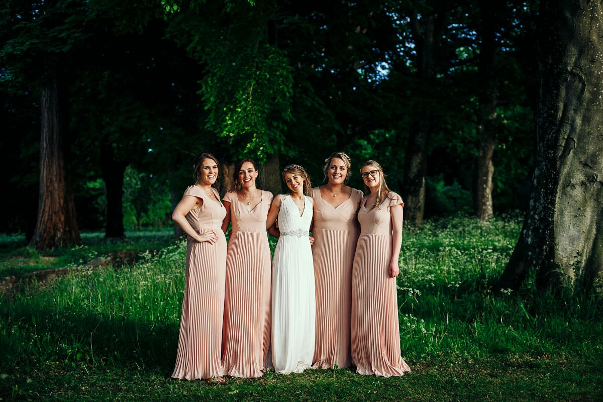 bridemaids portraits somerset