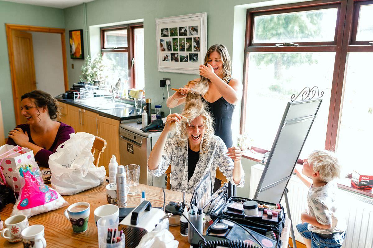 hair and makeup somerset