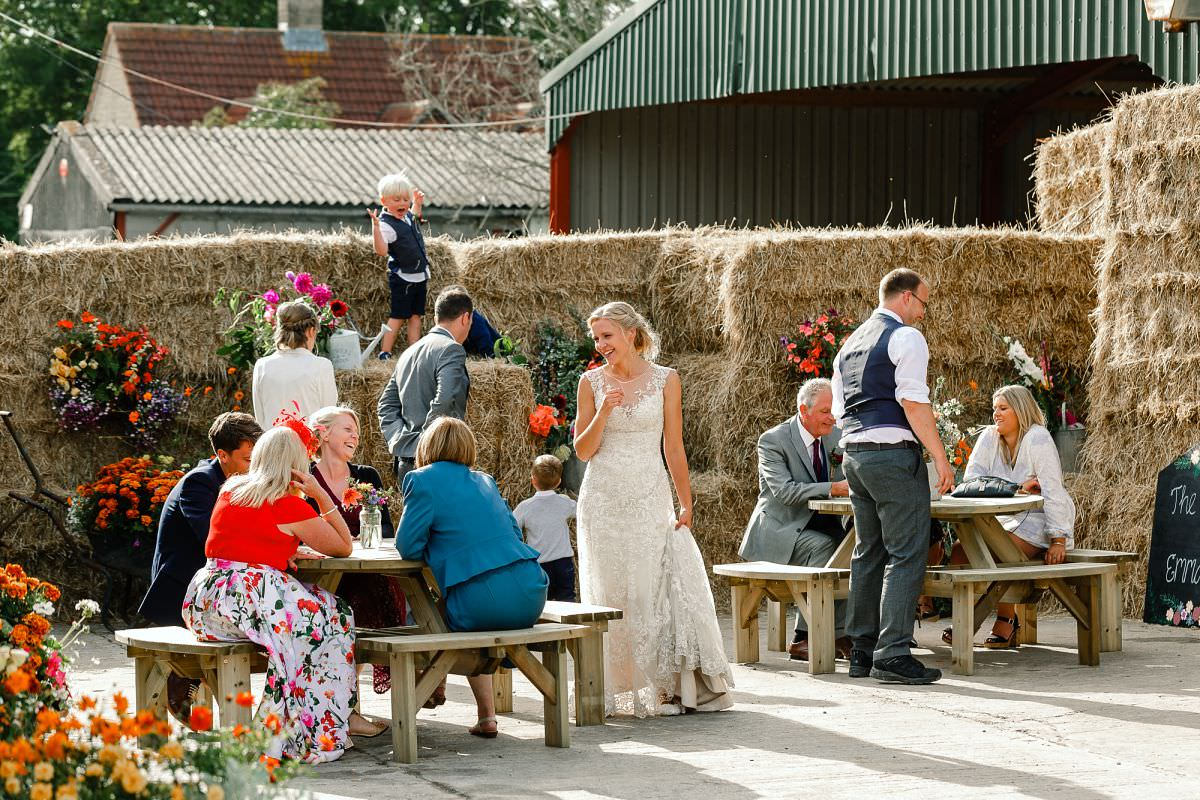 barn wedding in somerset