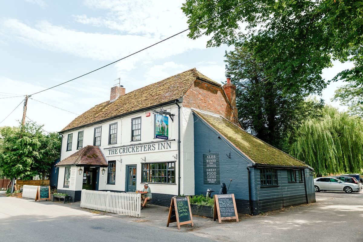 the cricketers inn hampshire