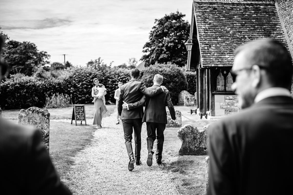 longparish church wedding andover