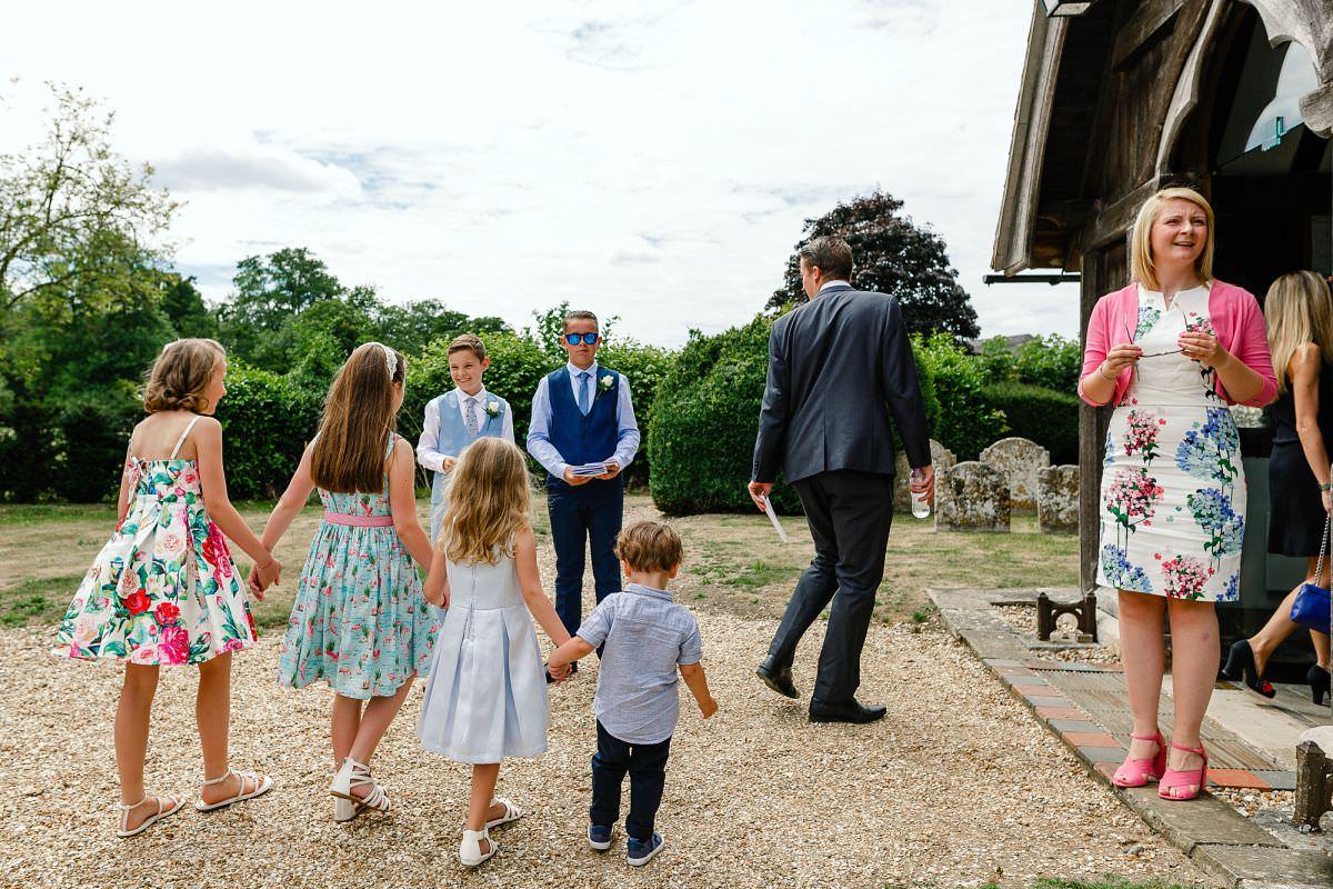 longparish church wedding andover