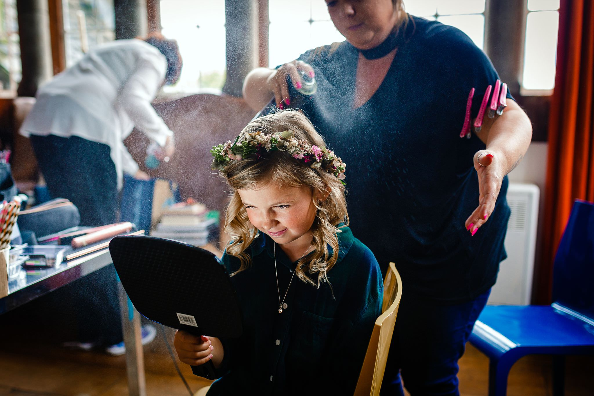 wedding hair and make up stroud