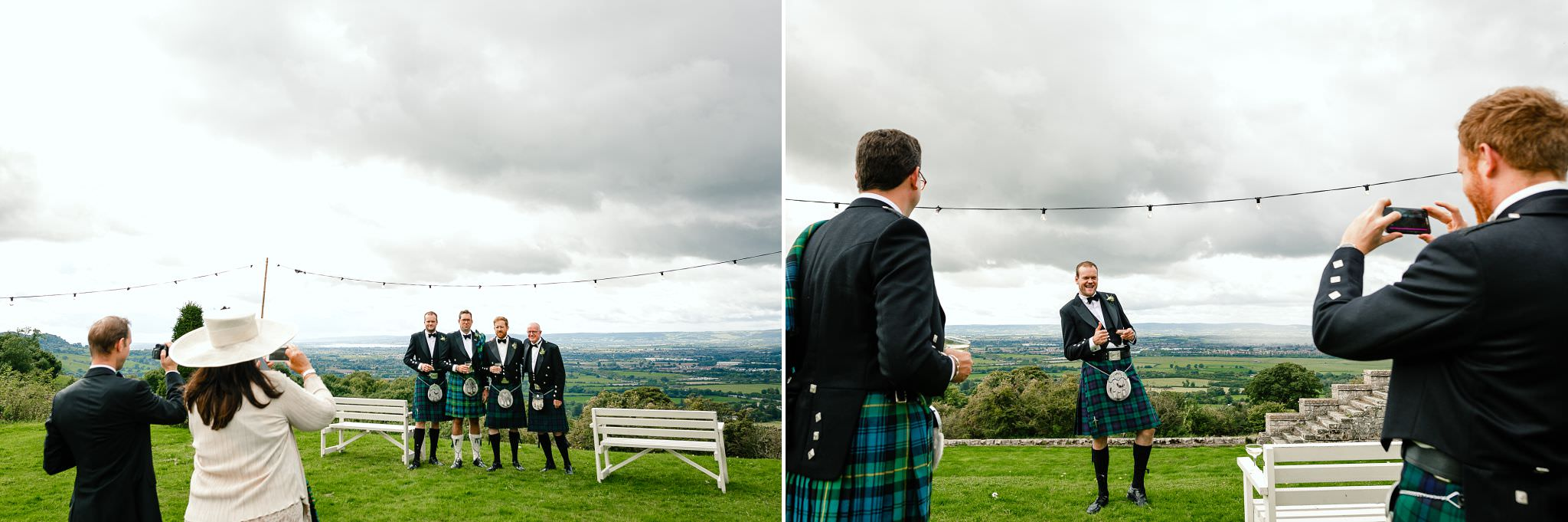 scottish wedding clothes