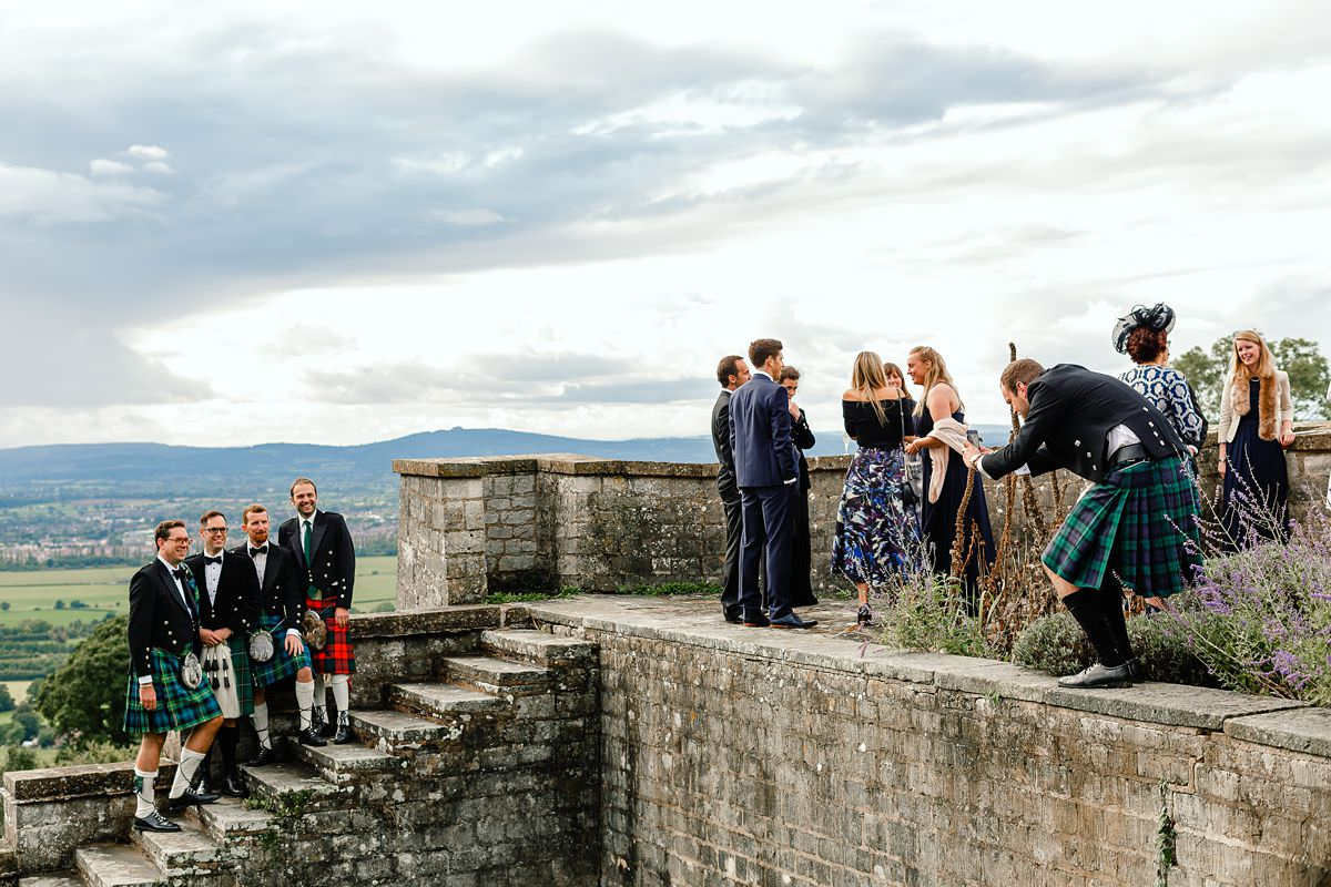 scottish wedding in somerset