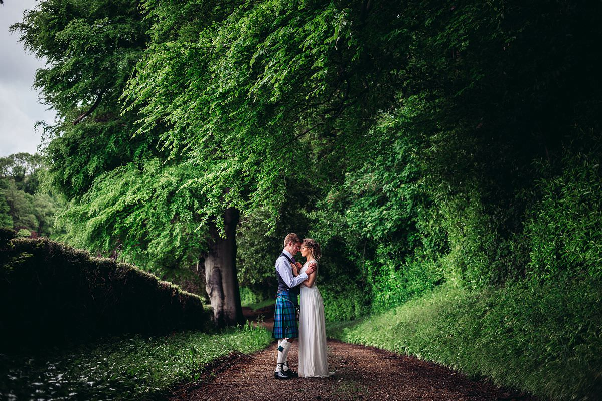 creative wedding portraits somerset