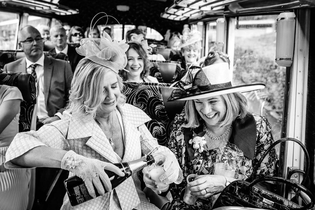 bristol wedding bus