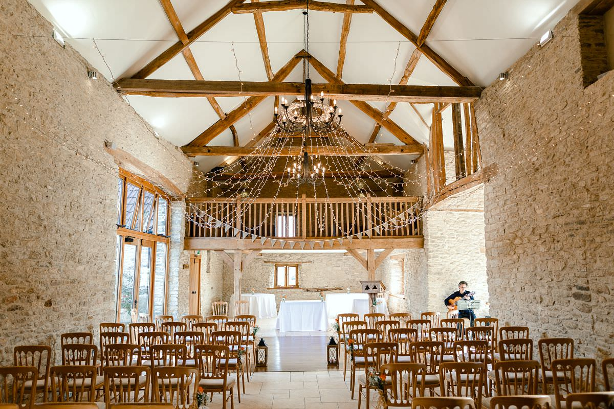 kingscote barn ceremony room