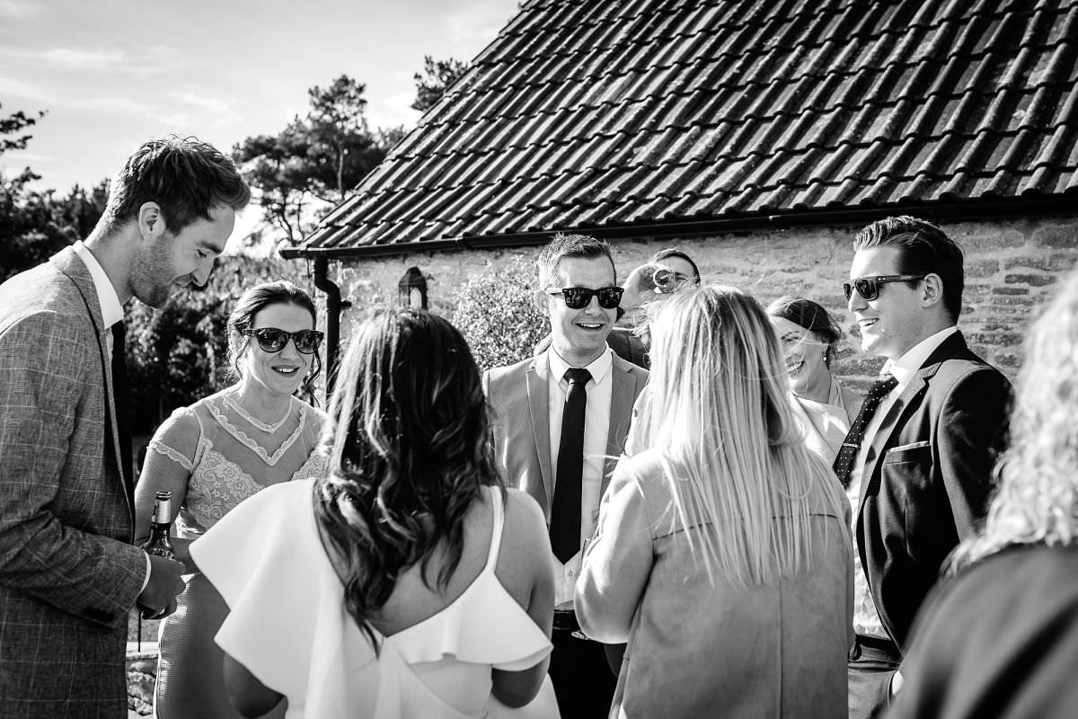 kingscote barn wedding reception
