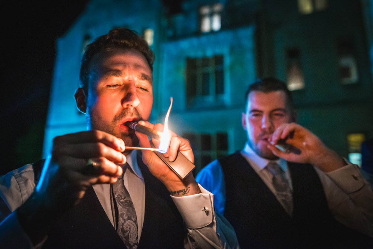 orchardleigh wedding cigars