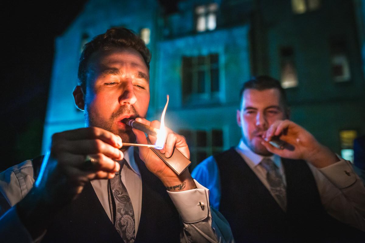 orchardleigh wedding cigars