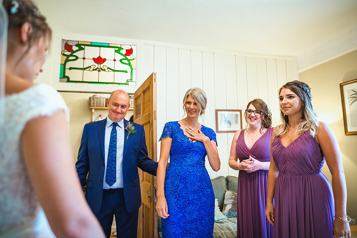 documentary wedding photographers in devon