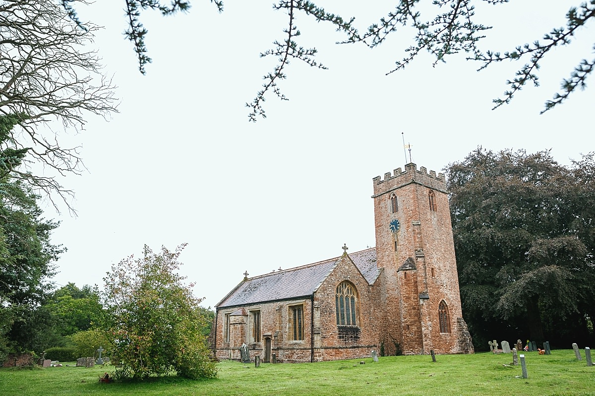devon church wedding