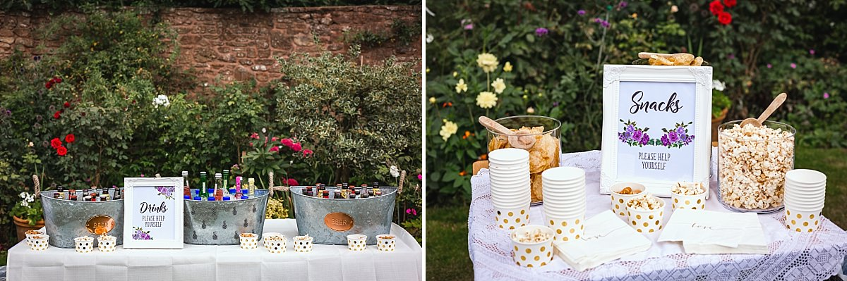 diy wedding devon