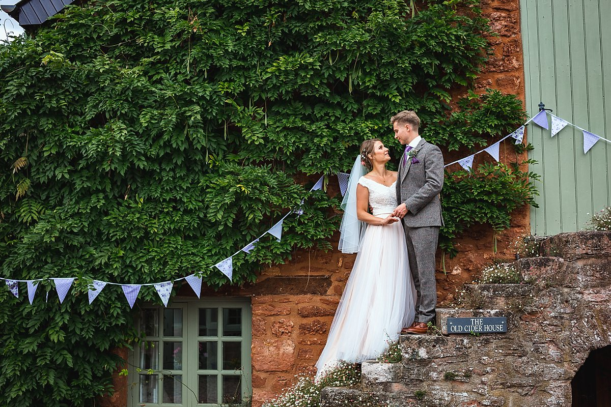 diy barn wedding devon
