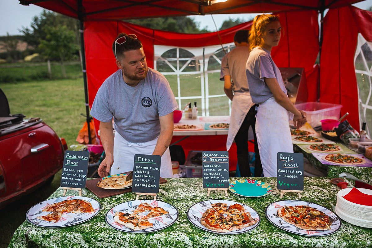 pizza weddings devon