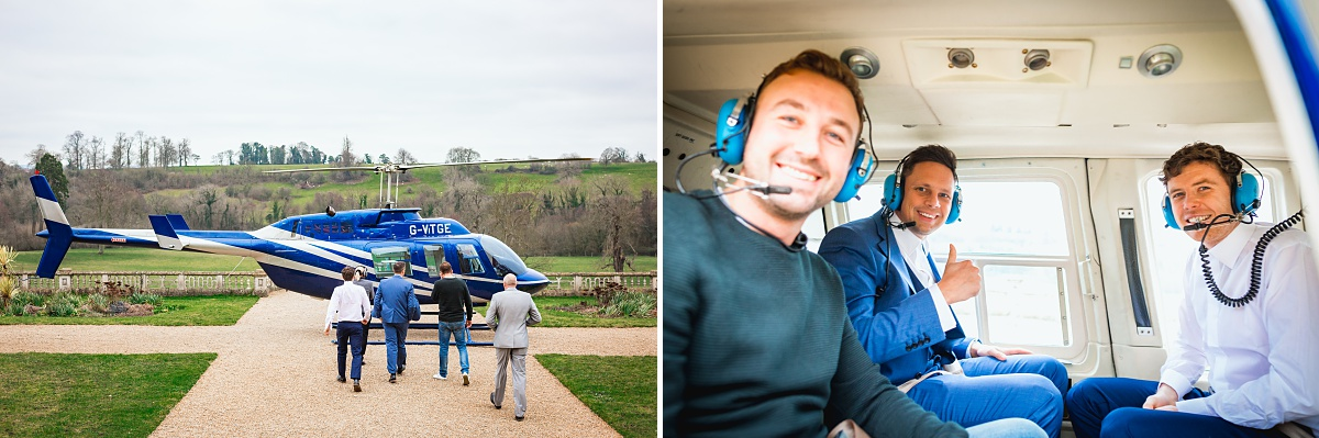 helicopter rides in somerset