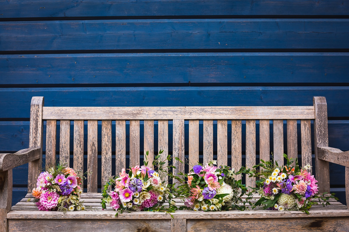hestercombe wedding florist