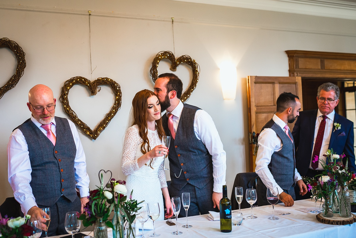 wedding at coombe lodge blagdon