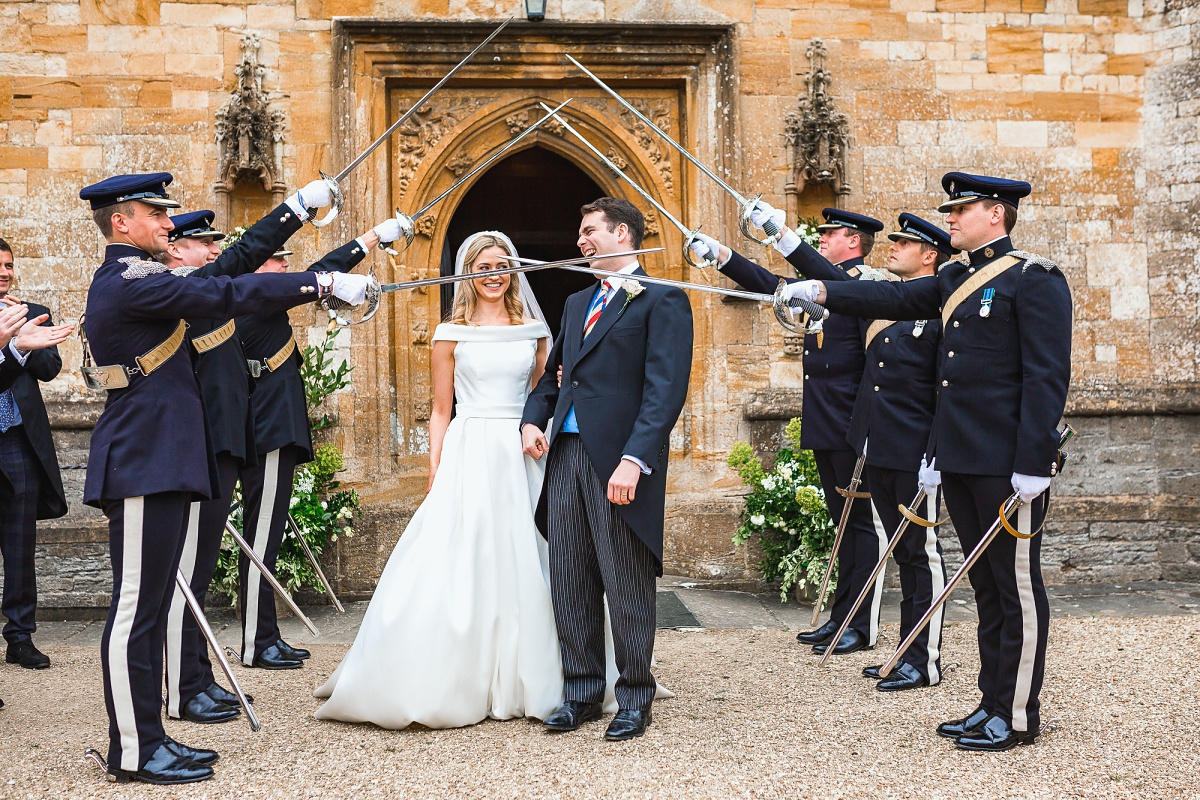 military wedding photography in somerset