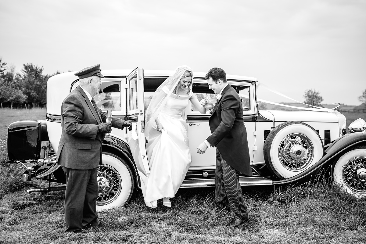 somerset wedding car photos