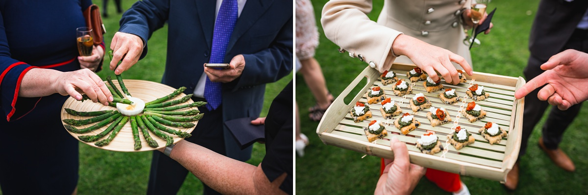 wedding canapes somerset