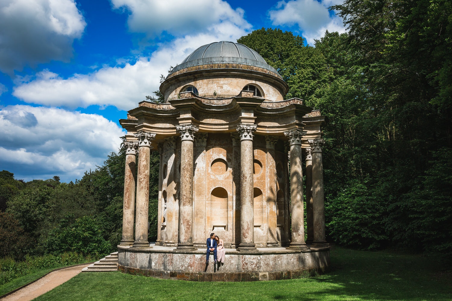 stourhead wedding photograpger