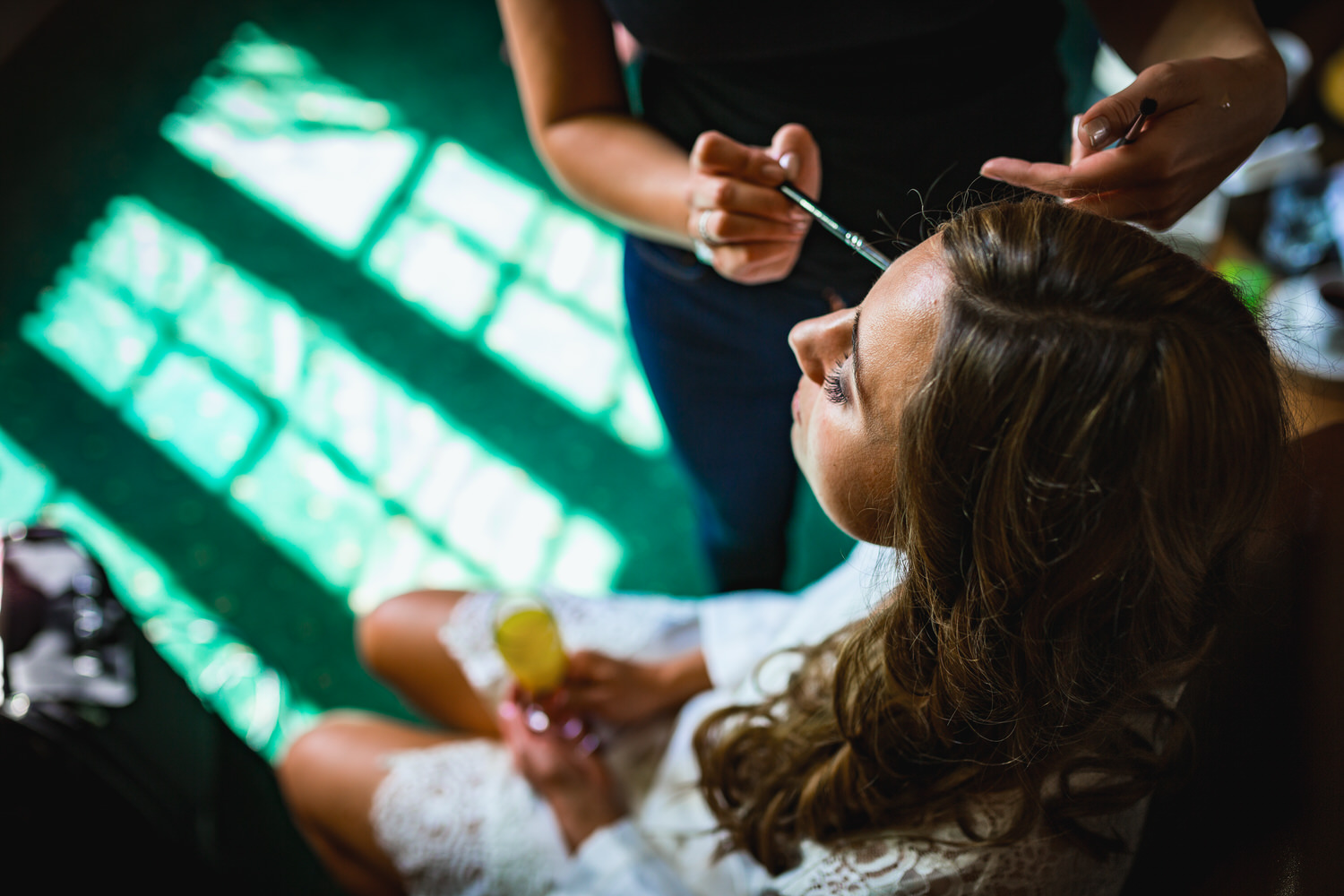 dillington house bridal prep
