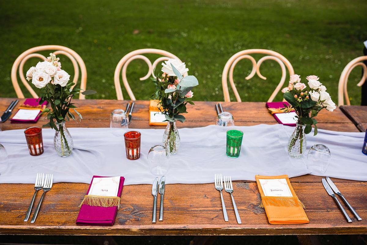 indian wedding reception in somerset
