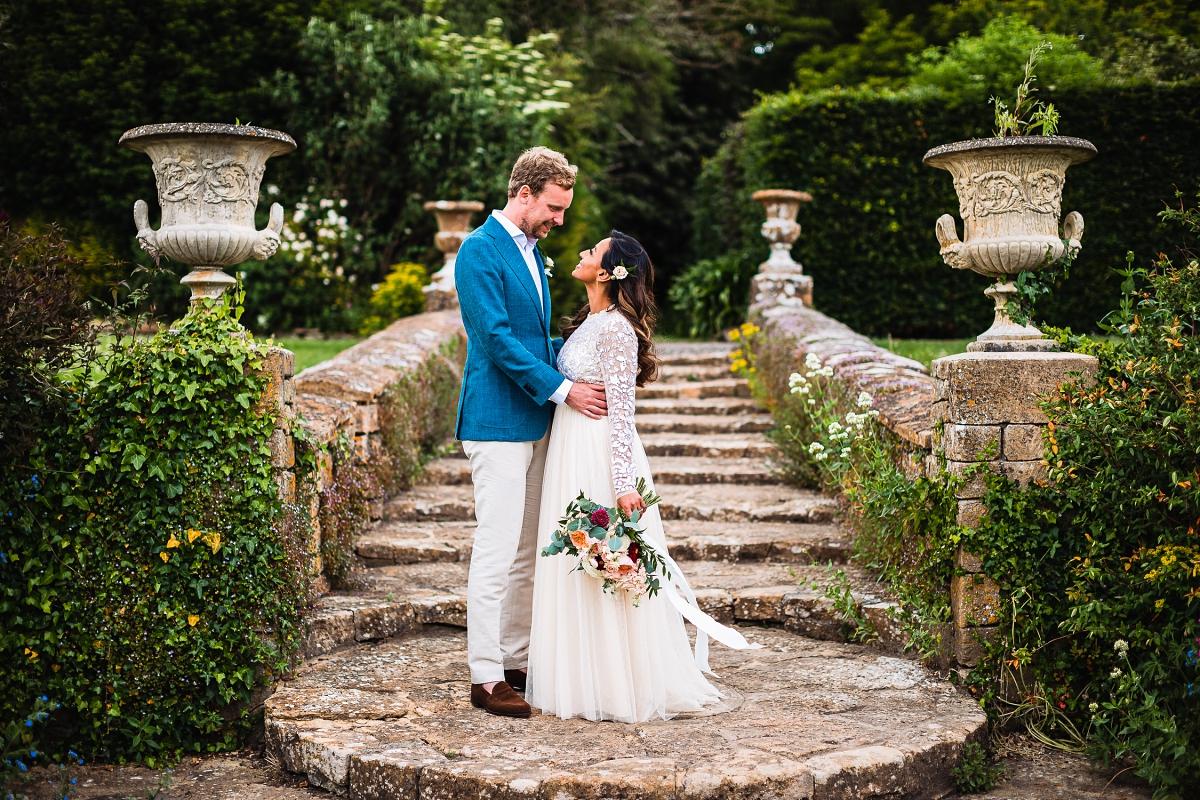 brympton house wedding south terrace